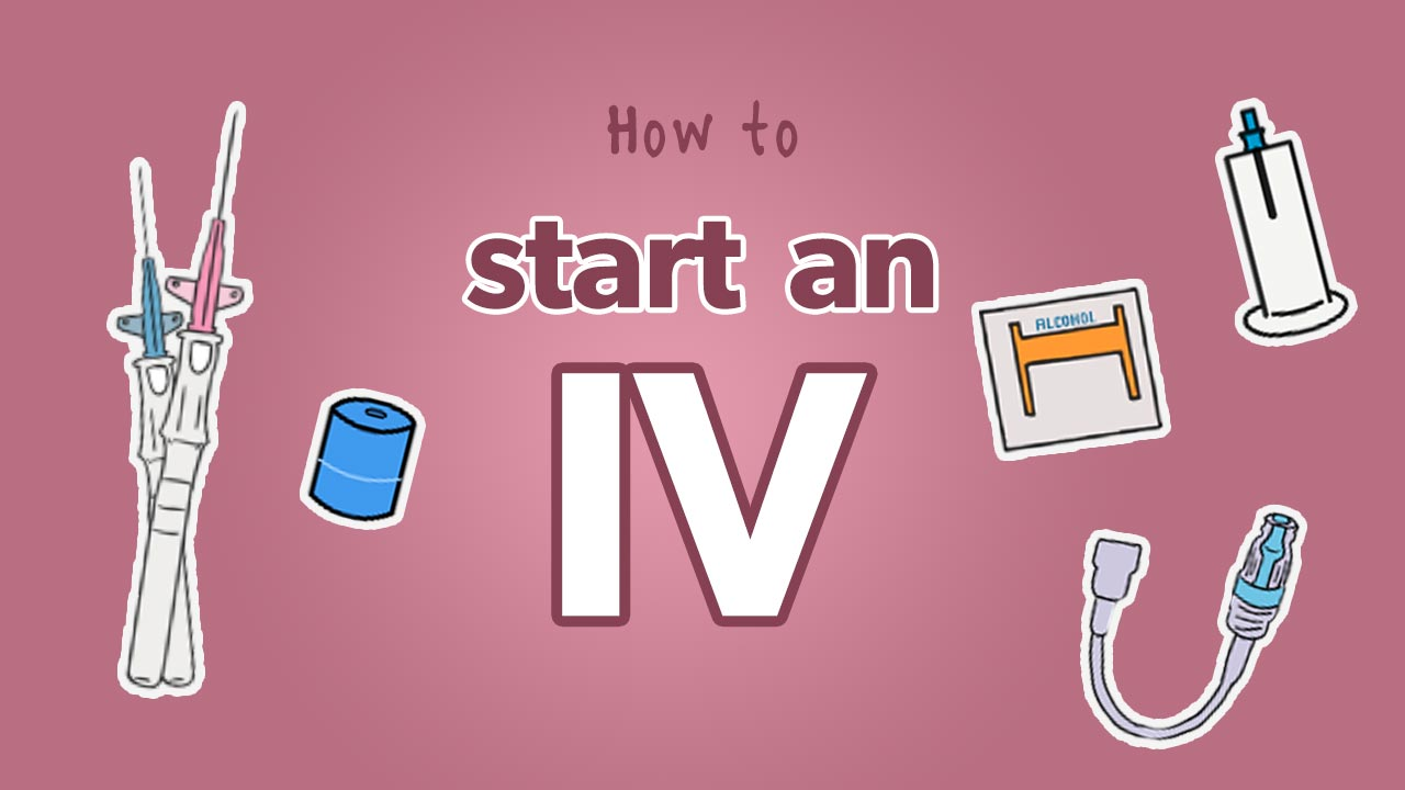 How to start an IV: Featured image