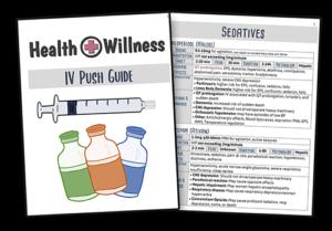 IV push list