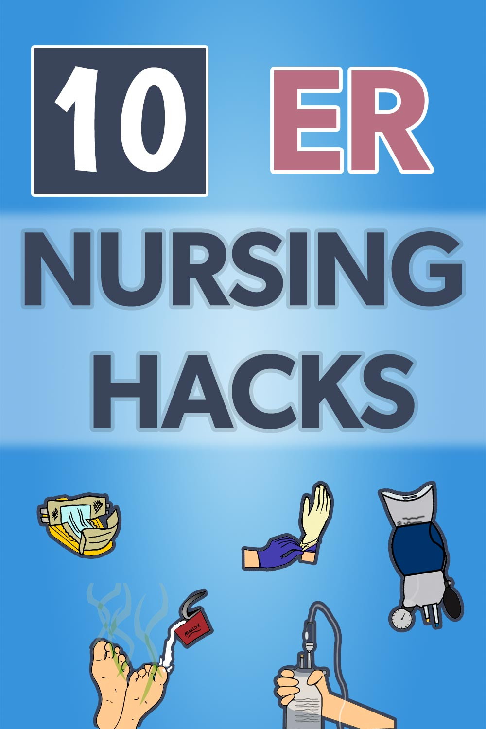 ER Nursing Hacks: Pin 2