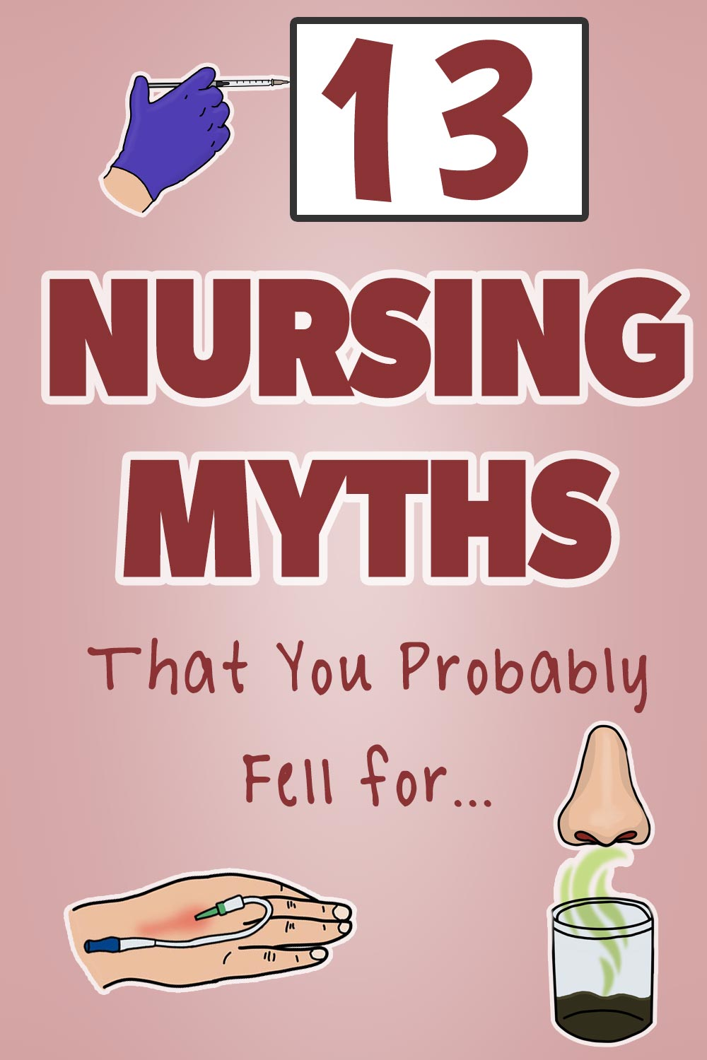 Nursing Myths - Pin