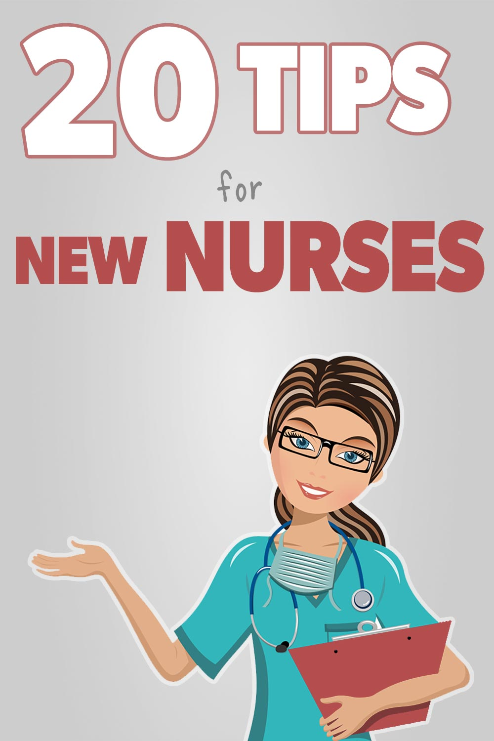 20 Top Tips for new nurses pin