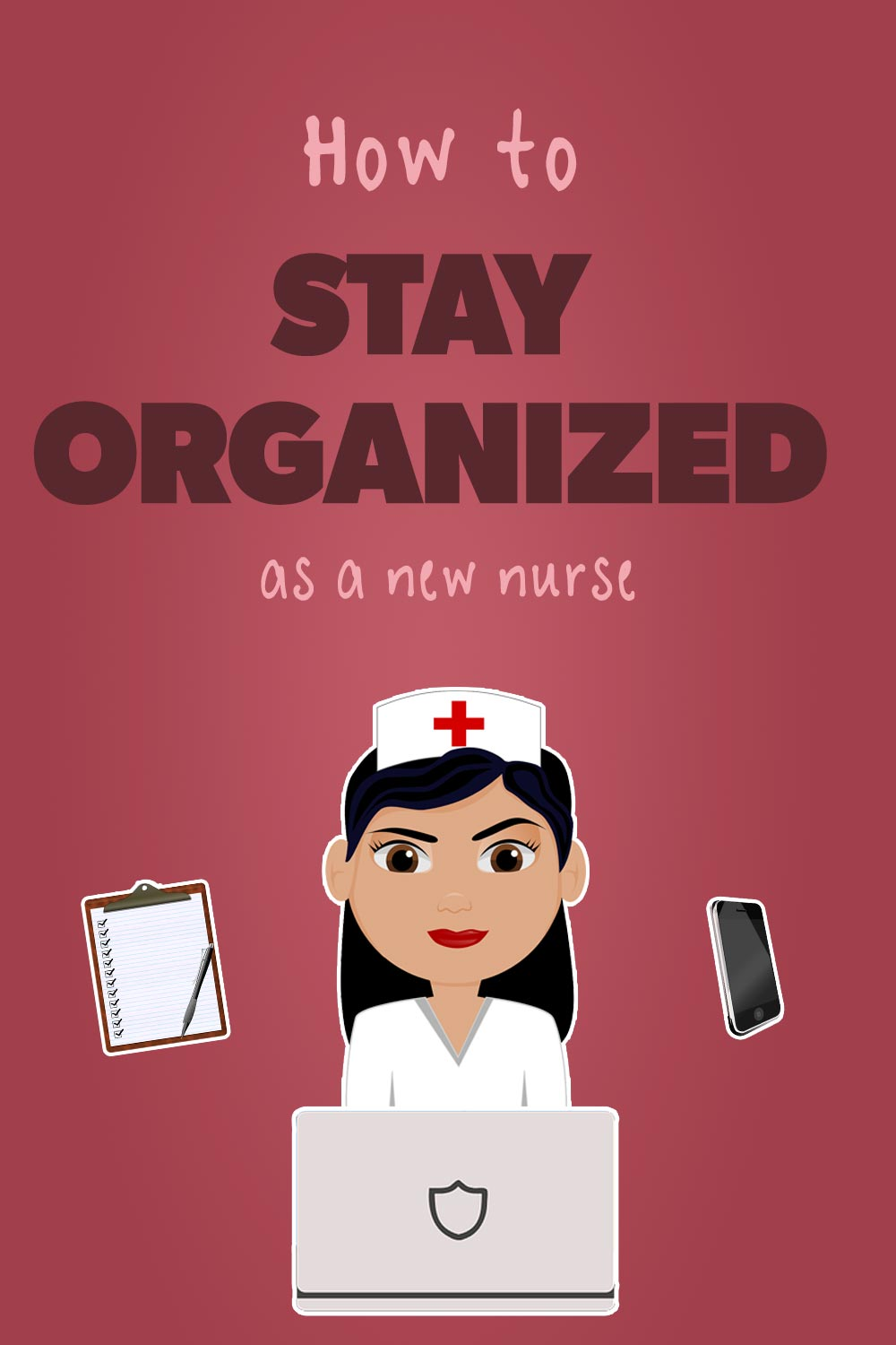 How to stay organized as a nurse pin