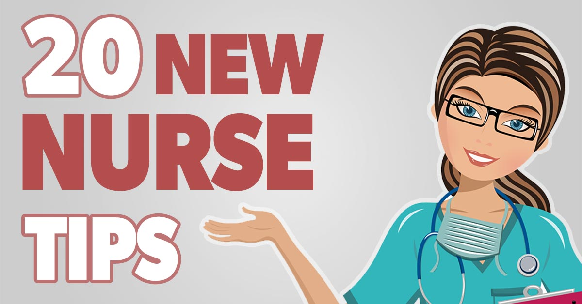 20 Top Tips for new nurses facebook image